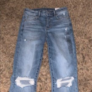 hi-rise skinny jeans from american eagle